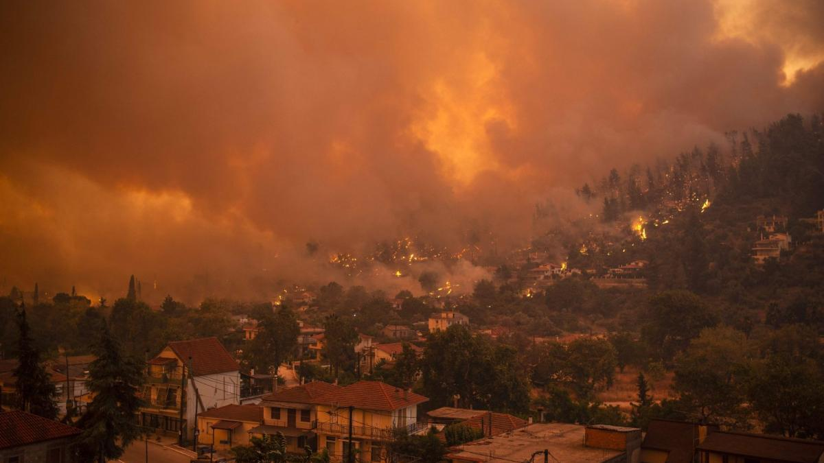 Menschen verzweifelt: Hier gibt es weder Strom noch Wasser - bei 45 Grad & Bränden