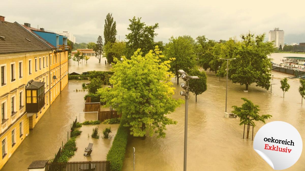 Wie Flächenversiegelung und Hochwasser zusammenhängen