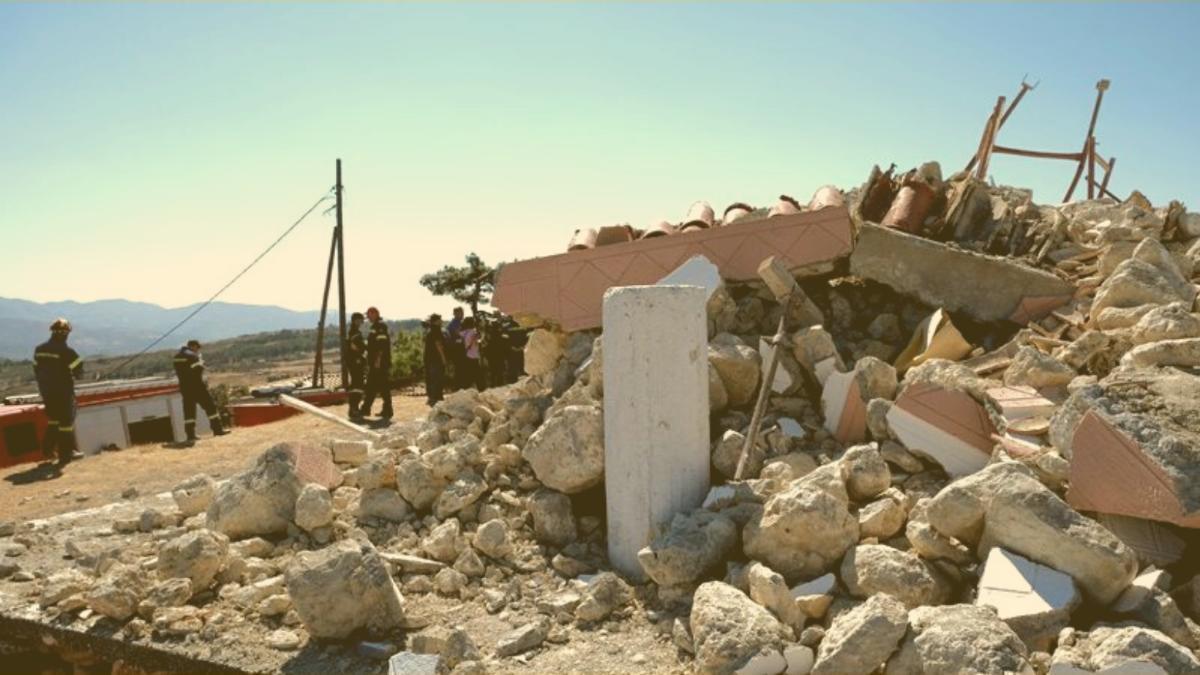 Erdbeben auf Kreta: Mindestens ein Toter, mehrere verschüttet, starke Zerstörung
