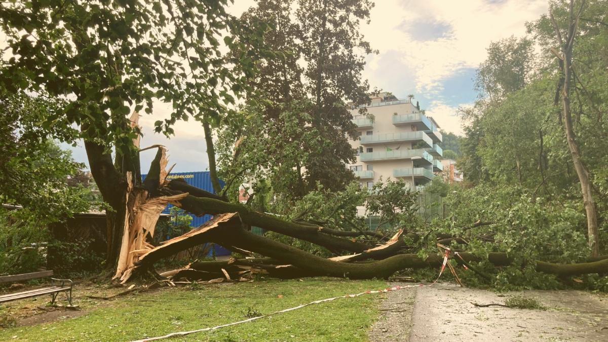 """""""Historisch"""": So stark wurde Graz vom Unwetter getroffen"""