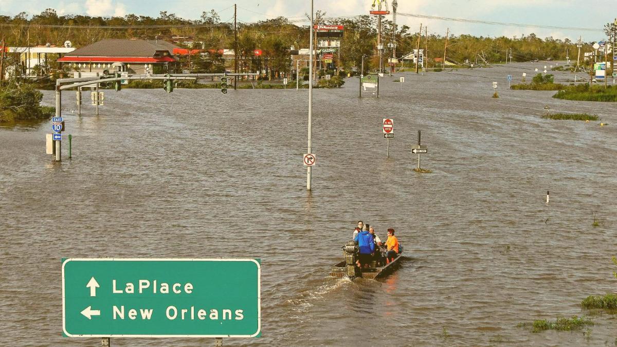 """""""Kommen Sie nicht zurück"""": Behörden warnen vor Rückkehr nach New Orleans"""