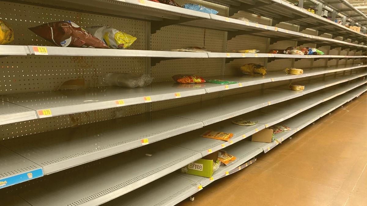 Versorgungsengpässe bei Lebensmitteln: Hier bleiben die Regale jetzt leer