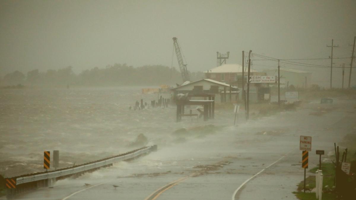 Bereits 65.000 ohne Strom: So trifft Hurrikan Ida jetzt auf die Küste in Louisiana
