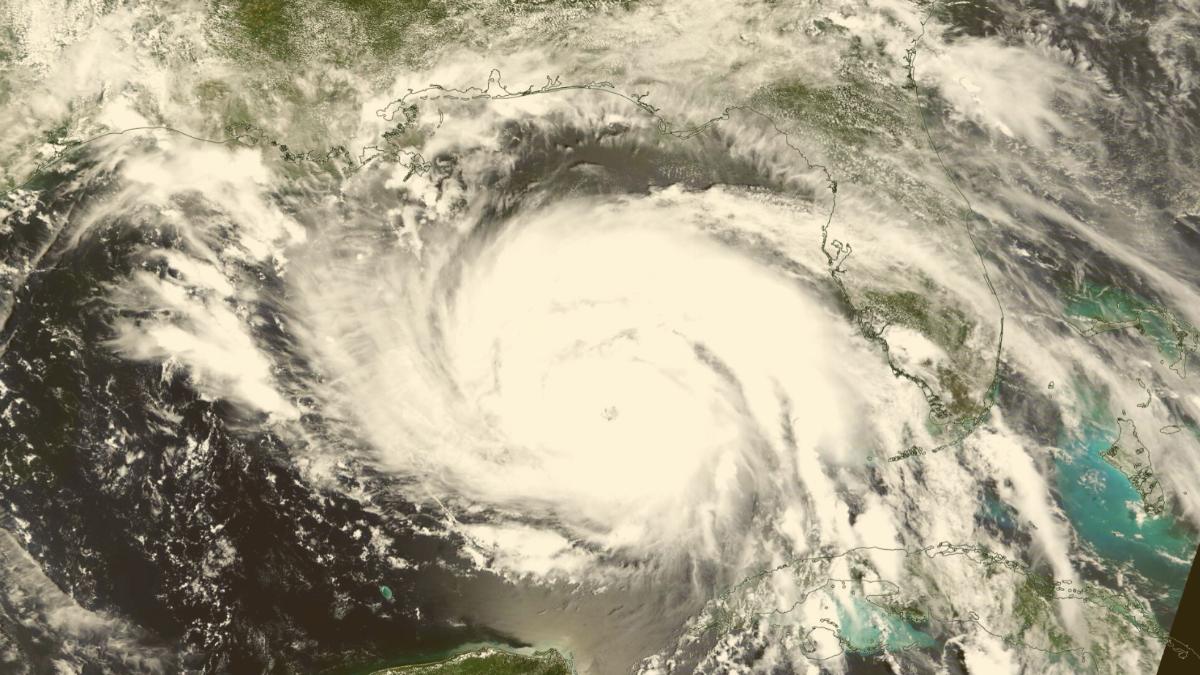 Auch Atomkraftwerk gefährdet: Diesen Weg der Zerstörung soll der Hurrikan nehmen