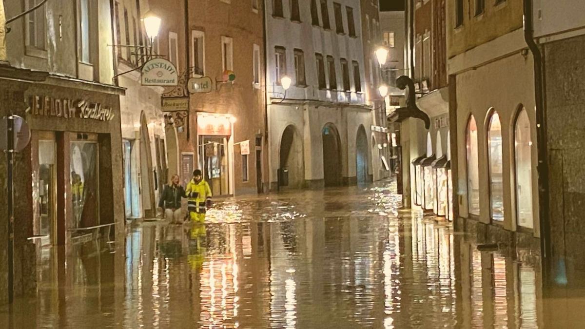 Hochwasser erreicht Österreich: In diesen Gemeinden herrscht Alarmzustand