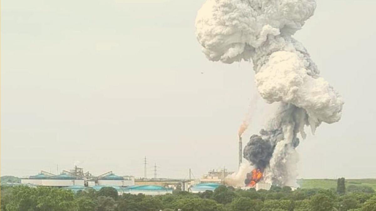 Chemie-Brand: Ein Toter, Spielplätze geschlossen, Gemüse aus Garten nicht verzehren