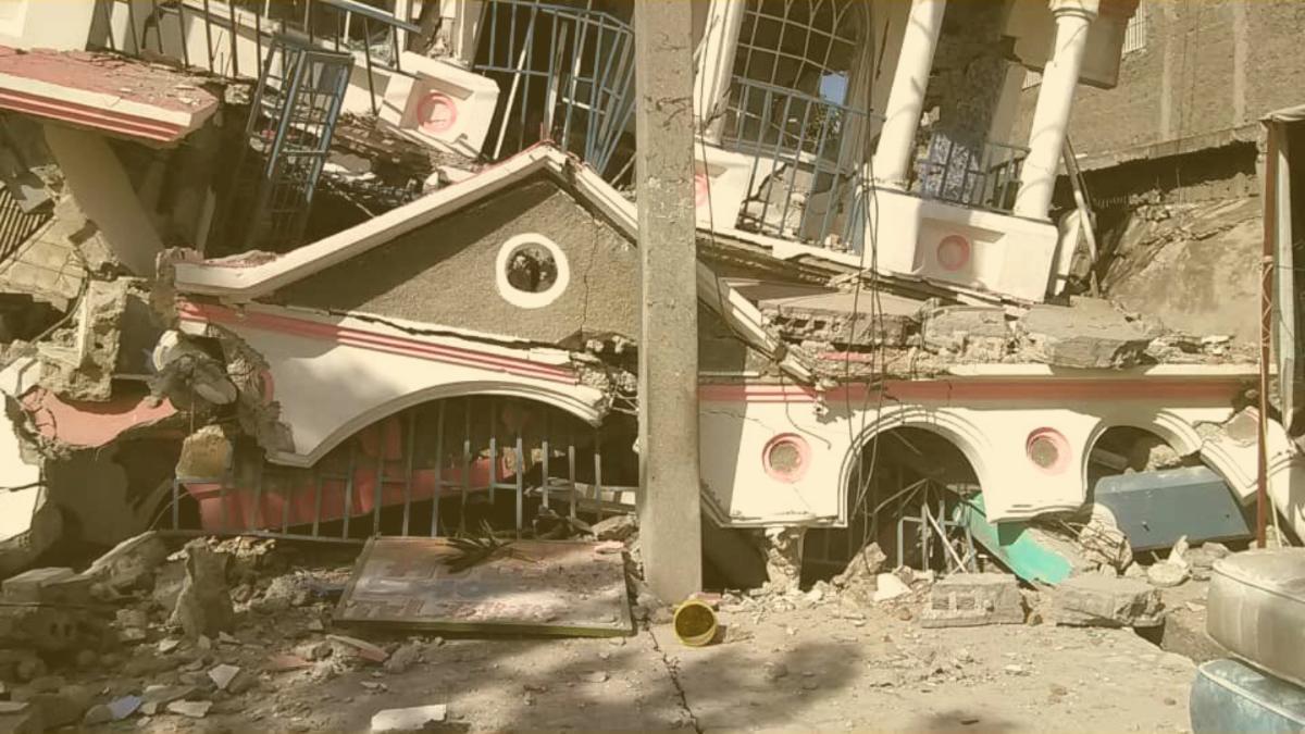 Eilmeldung: Tote und Verletzte nach schwerem Erdbeben