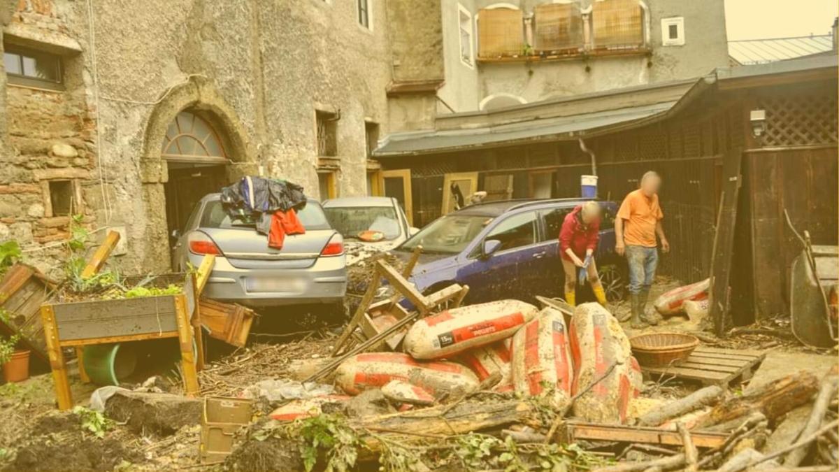 6.000 Euro für Flutopfer: So hilft unser oekofonds jetzt den Armen in Hallein