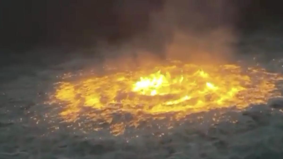 Wenn das Meer in Flammen steht: Neuer Zwischenfall im Golf von Mexiko
