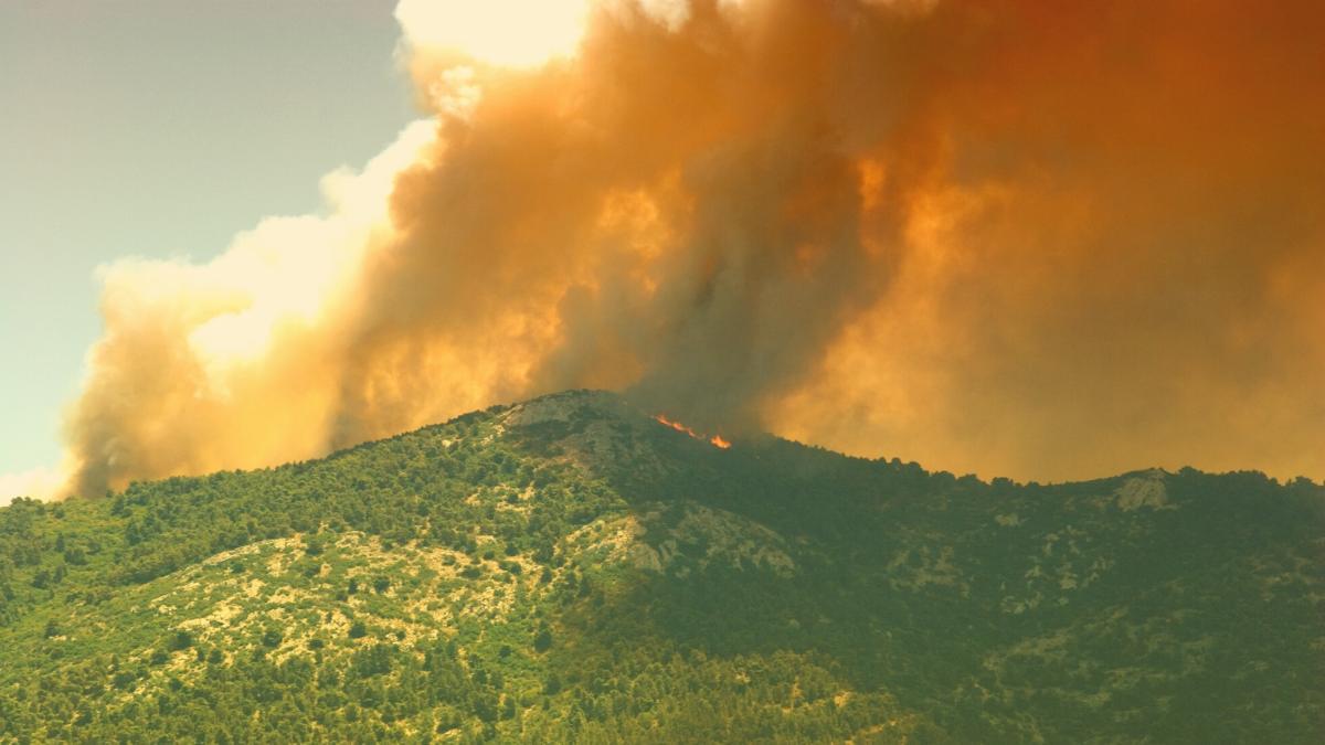 """""""Hinter uns ist die Hölle"""": Norden Athens muss wegen Bränden evakuiert werden"""