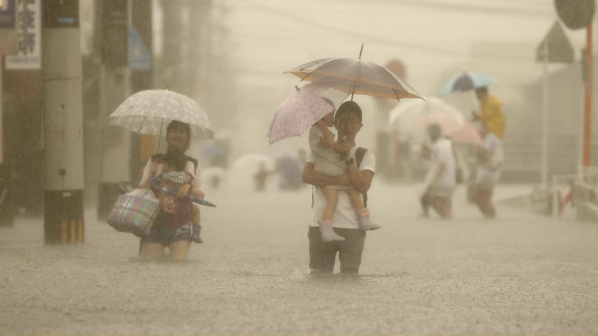 Fluten: 1,4 Millionen Menschen sind jetzt aufgefordert die Häuser zu verlassen